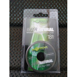 KORDA SUPER NATURAL WEED  GREEN, 18 LB,(18,2KG),20 M