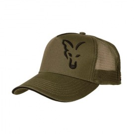 FOX GREEN BLACK TRUCKER CAP