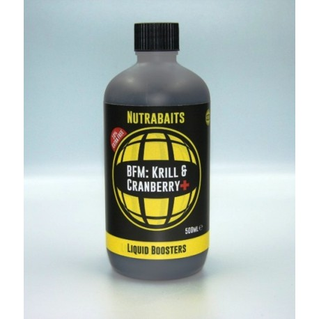 KRILL & CRANBERRY+ LIQUID BOOSTER, 500ML