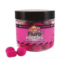 Pop ups & dumbells mulberry florentine 15mm Dinamite baits