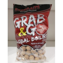 G&G SQUID & OCTOPUS BOILIES, 20 MM, 1 KG