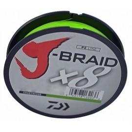 J-BRAID 0,10, 300 m, boja chartreuse