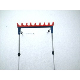 8-section pole stand, CSV